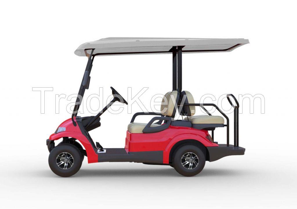 Advanced EV Golf Car 2+2 passenger mini shuttle electric vehicle