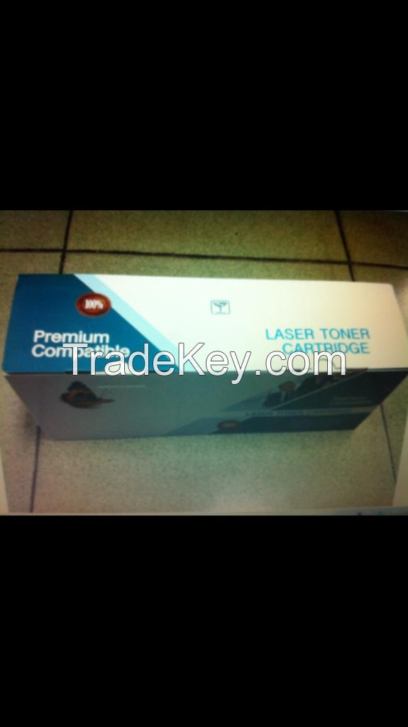 Printer Toner Black/New OPC/With Chip/Premium