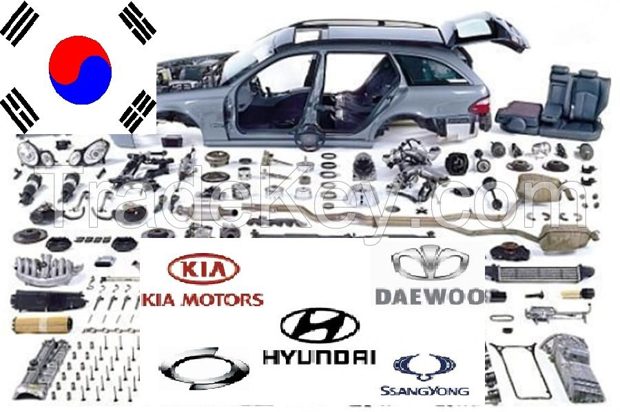 all Korean car genuine spare parts