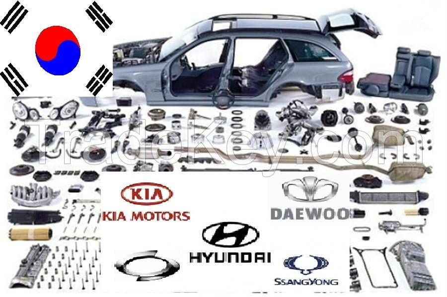 ALL KOREAN genuine BRANDS CAR SPARE PARTS