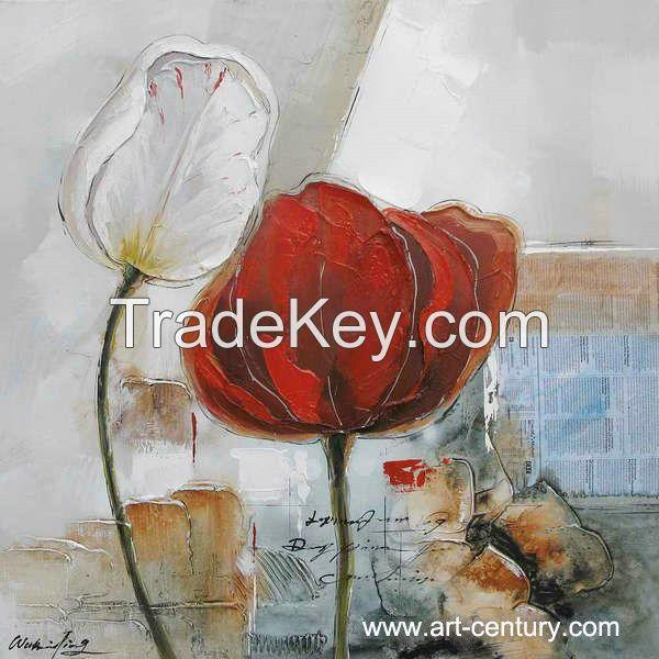 Decorative handmade oil paintings