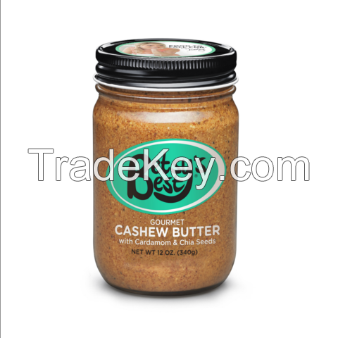 Get All New Gourmet Cashew Butter At Betsy's Best: Gourmet Nut Butters Specialist
