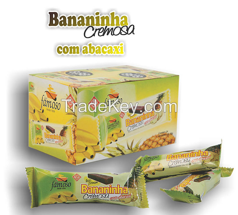 Natural Candy - Fruit Banana with Pineapple