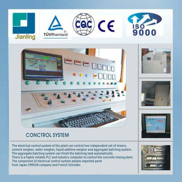 Factory Supply Concrete Batching Plant HZS40