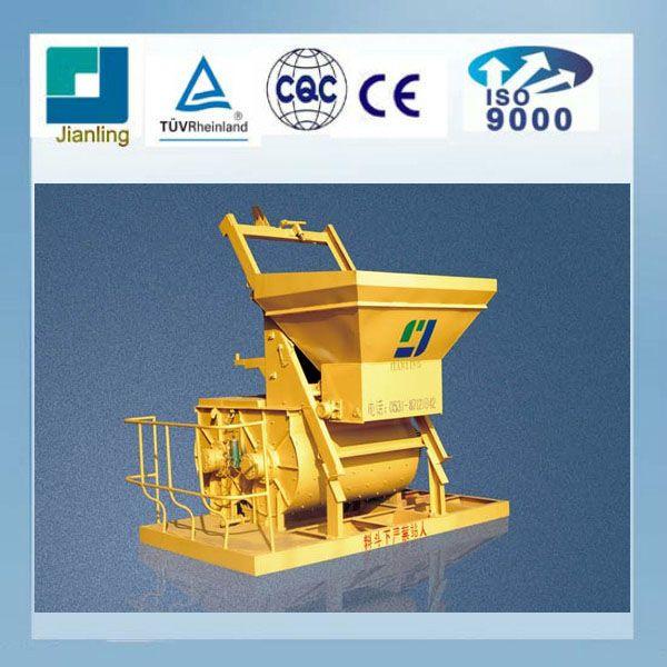 Double Horizontal Shafts Frocing Cement Mixer JS1000