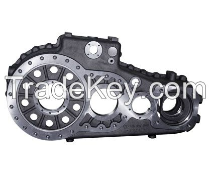 Transmission housing- iron casting truck parts