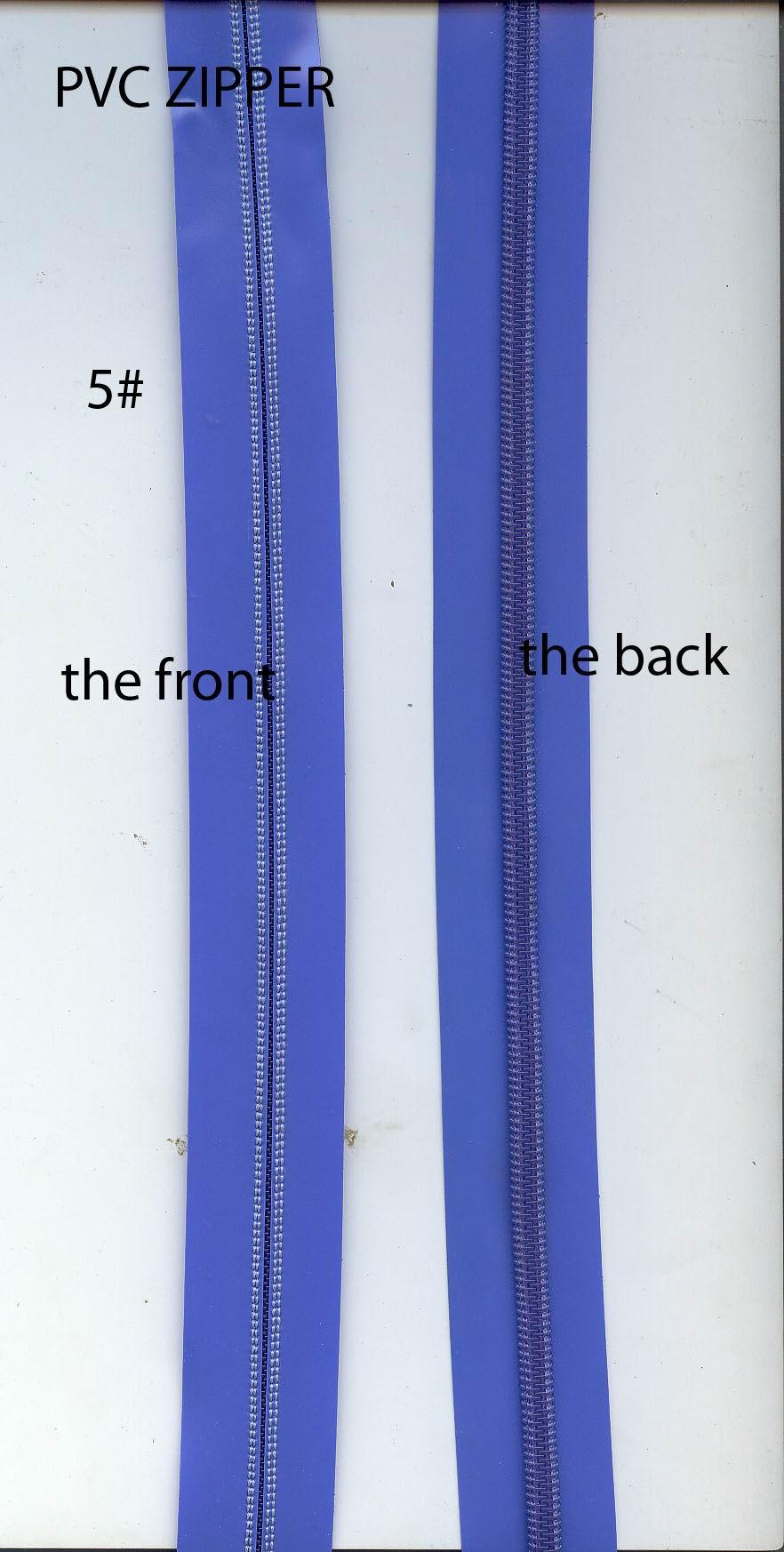 PVC Zipper  PU Zipper  Zipper