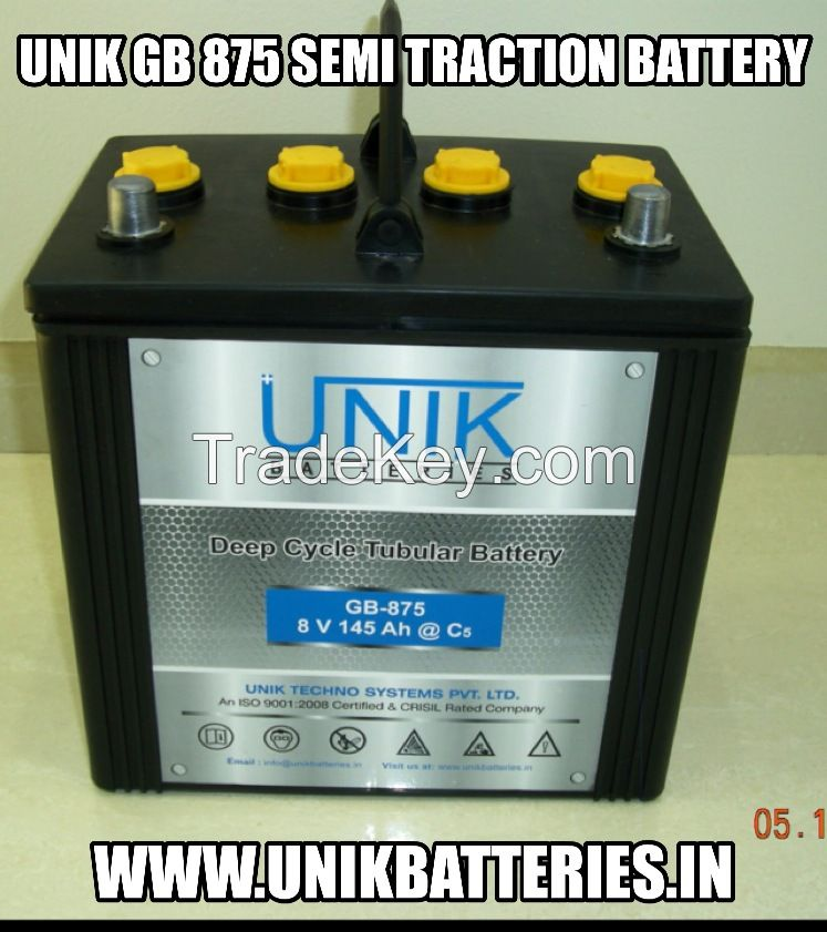 DEEP CYCLE SEMI TRACTION GOLF CART BATTERIES