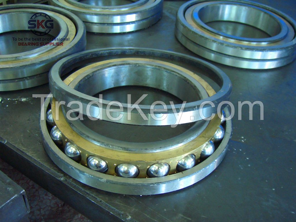 angular contact ball bearing made in china with high quality and low price