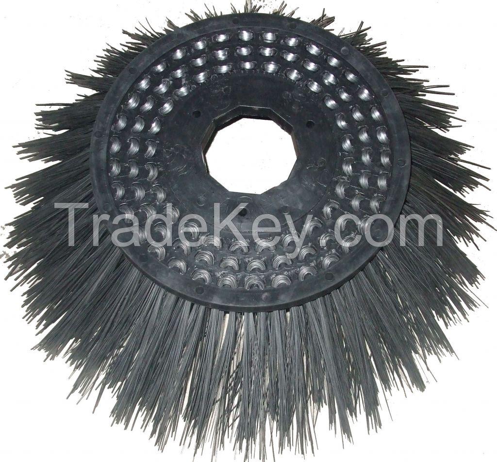 450mm side steel brush