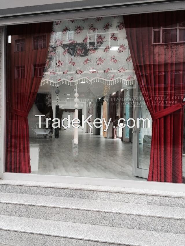 curtain and fur curtain fabrics