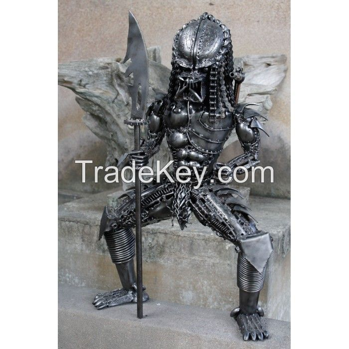 Scrap Metal Predator with Spear