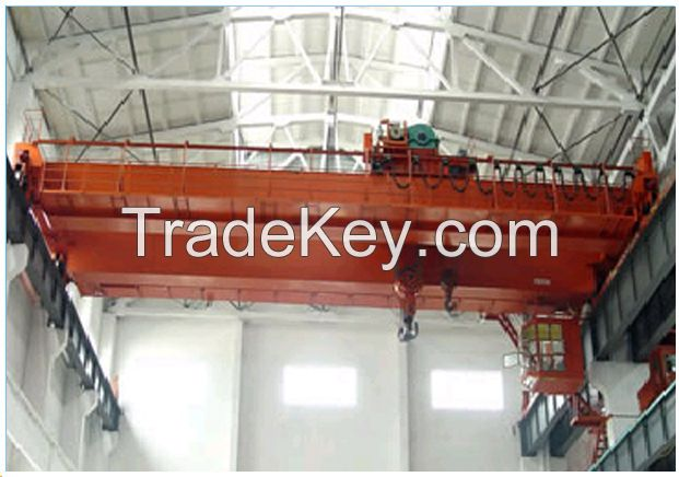 QD type double girder electric overhead traveling crane