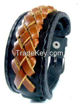 Handmade Cowhide Leather dog collars