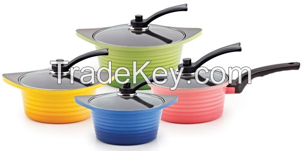 Ceramic Coated Pot series