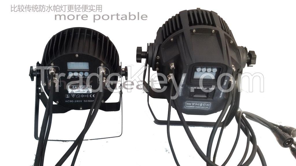 Waterproof Outdoor 14X10W RGBWAP 4in1/5in1/6in1 LED PAR CAN Light