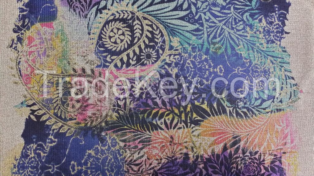 Printed Fabric, Knitted Fabric, Polyester Fabric