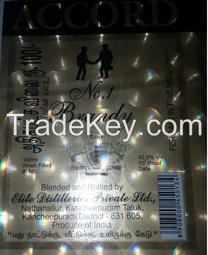 Self Adhesive Labels Holographic