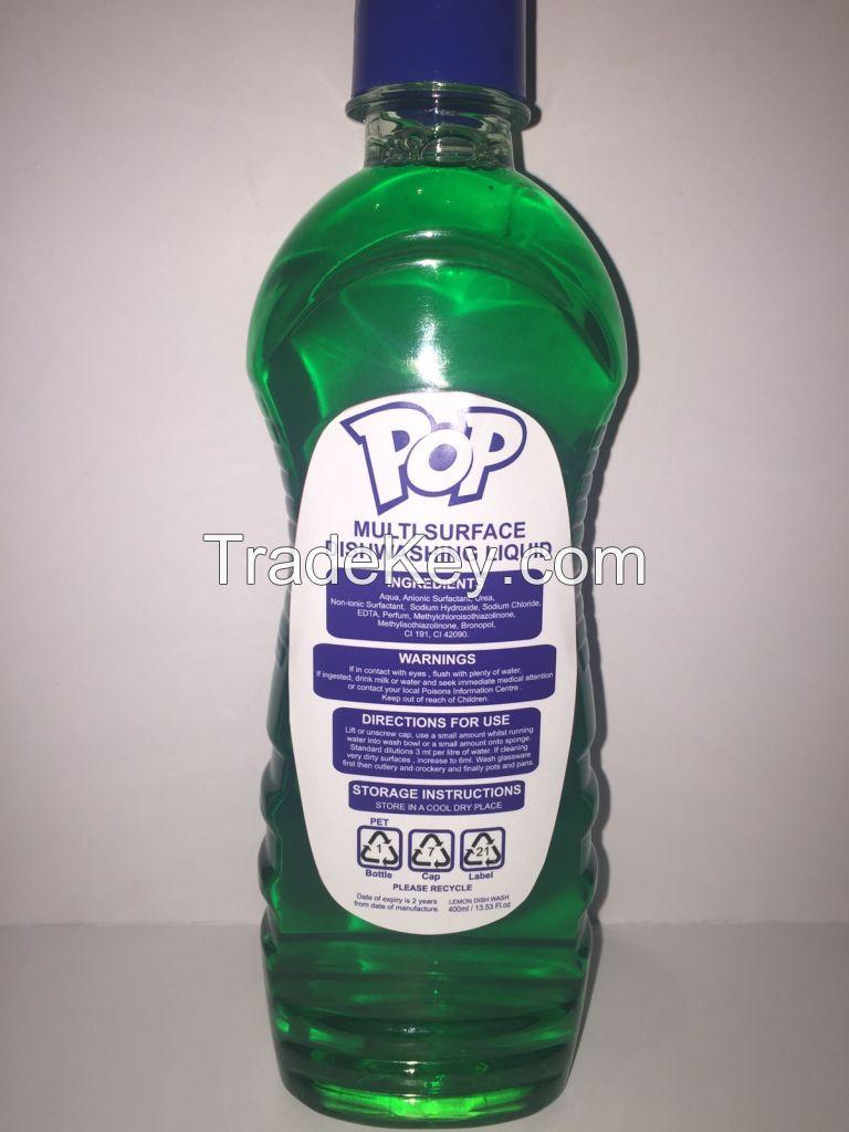POP DISHWASHING LIQUID