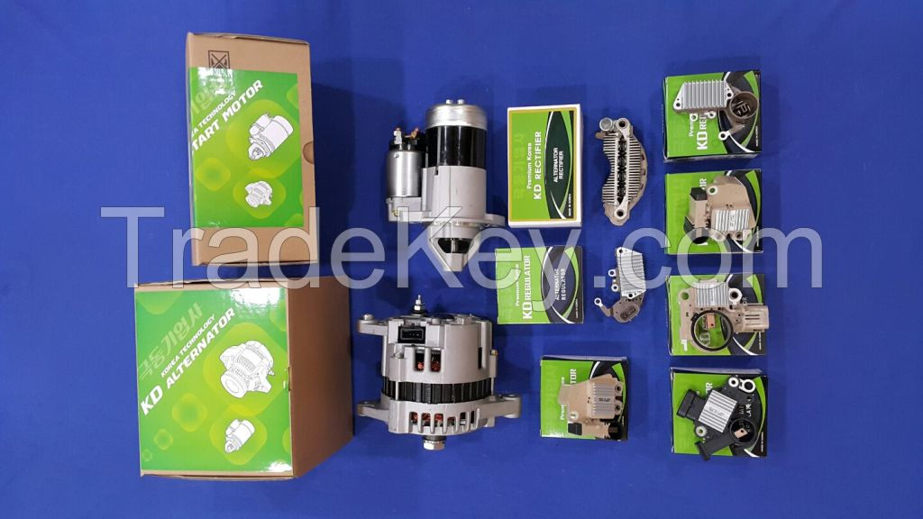 KDSC-0100 Alternator and Starter assy and Parts - Regulator and Rectifier.