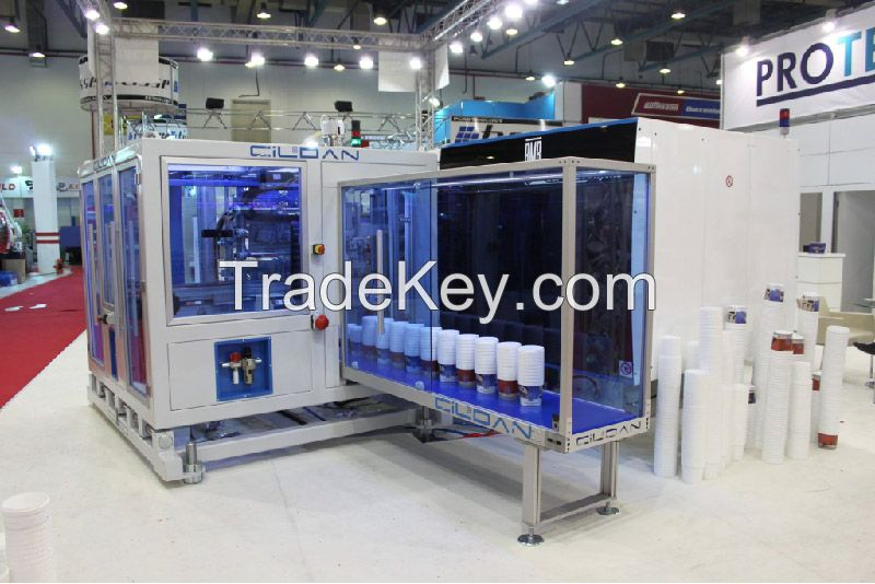 IML Robot - In Mould Labeling System