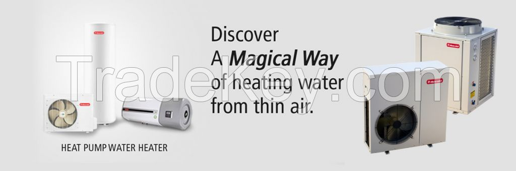 Hot Water Solution for Cold Places, Hydro Heat Pump, Electric Boiler, Diesel Boiler