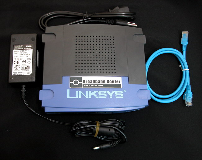 Linksys RT31P2 (Wired router+2Phone Port) Unlocked forever