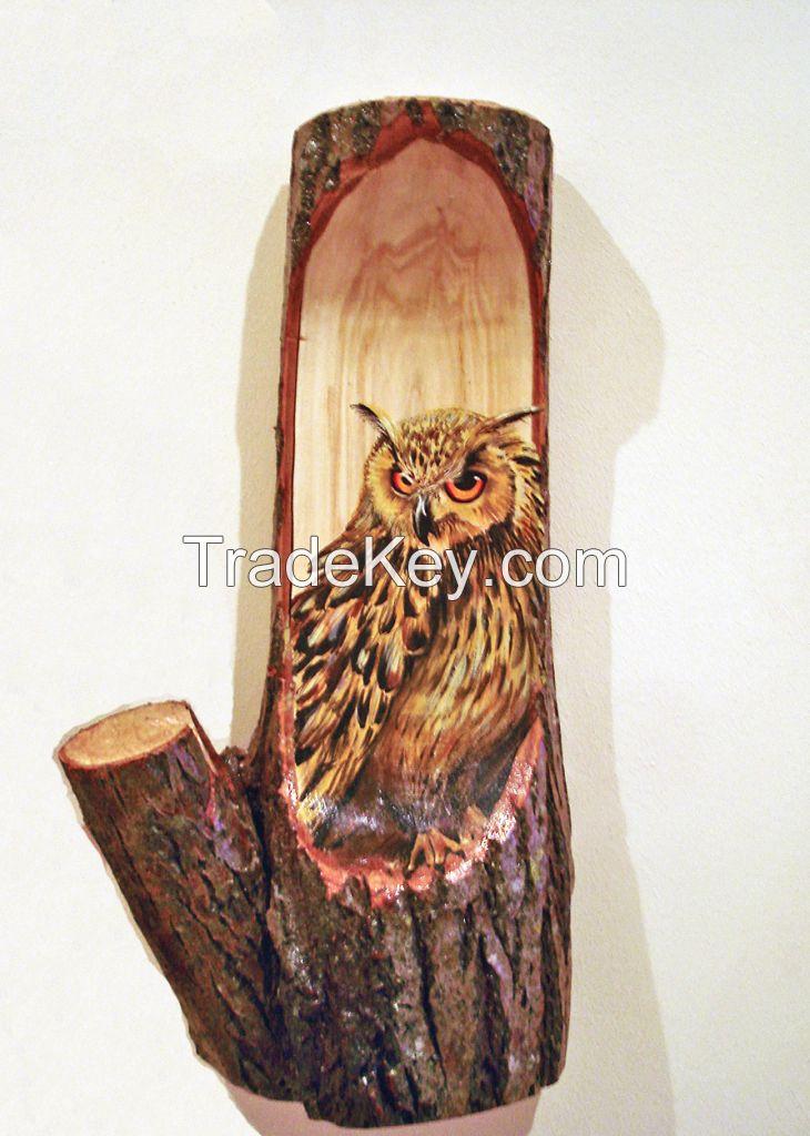 Decorative wood panel