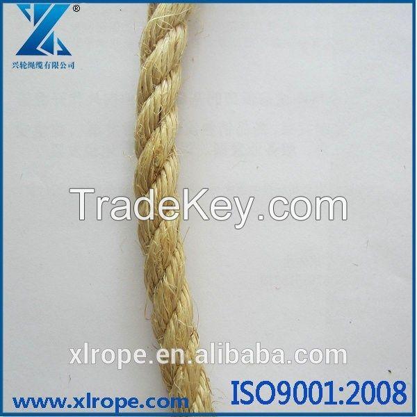 Manila rope used for marine