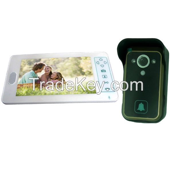 Home Security Night Vision New 7 Inch Wireless Video Door Phone