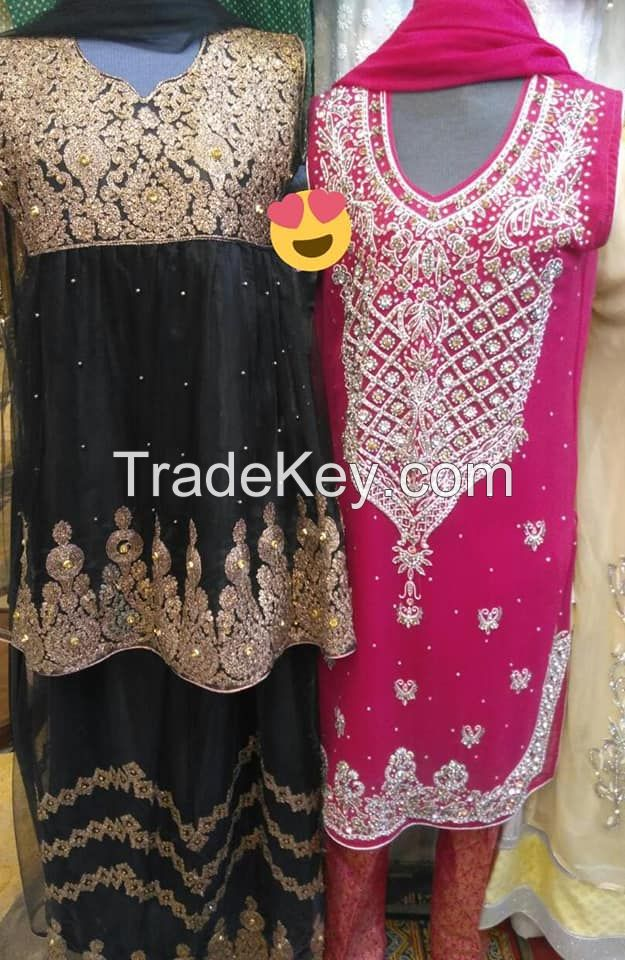 New stylish party dresses 2020 at wholesale rate by Sofarahaino