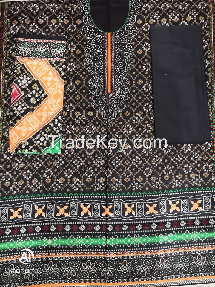Al karam printed kasturi 3pc stitched unstitched suits by Sofarahino