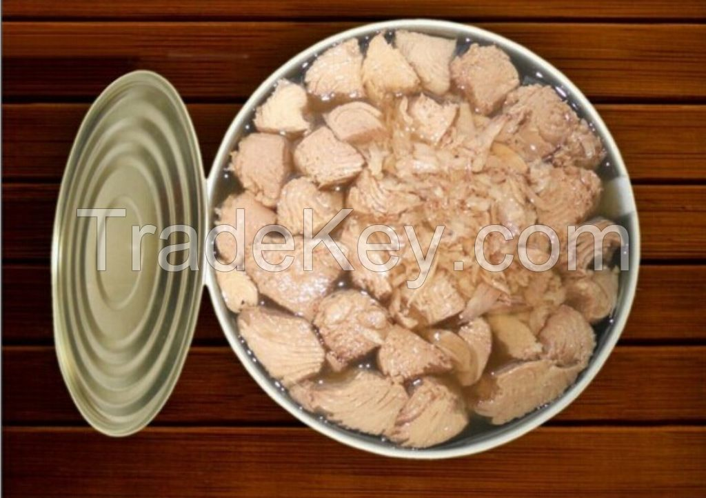 Canned Yellowfin Tuna in Oil