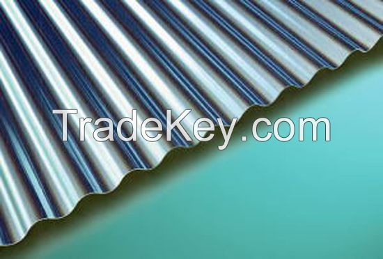 Aluminum Corrugated Sheet Trapezoidal Wave/ Sine Wave