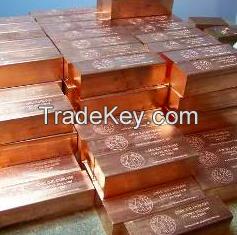 copper ingots, copper powder, copper cathodes