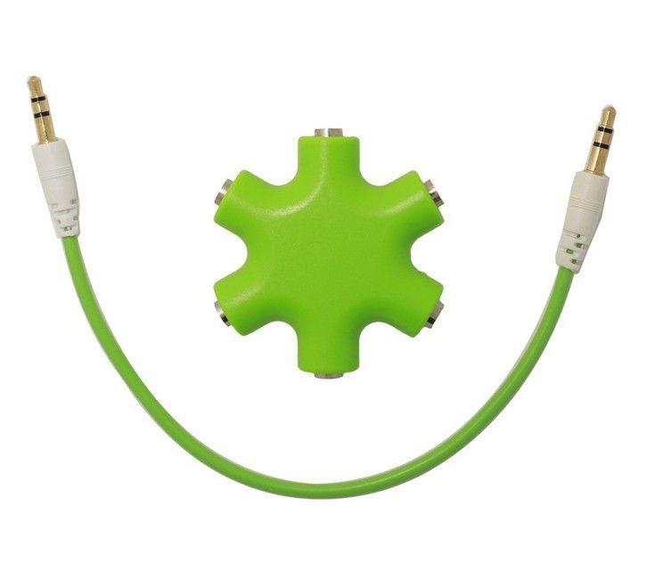 3.5mm Earphone Splitter Headphone Ear Jack Music Audio Splitter