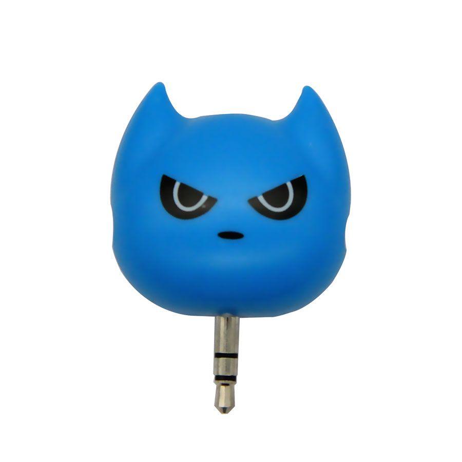3 in1 3.5mm Batman Earphone Audio Splitter Adapter for Mobile Phone MP3 MP4 Player Couple Headphone Splitter