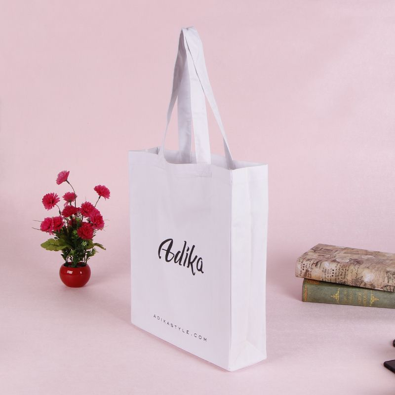 Simple Design Cheap Promotional Cotton Tote Bag Gift Bag