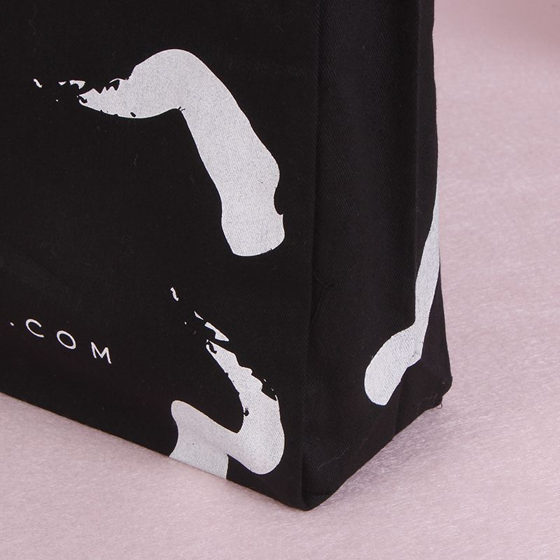 Customized Reusable Tote Cotton Handle Bag with Logo Printing