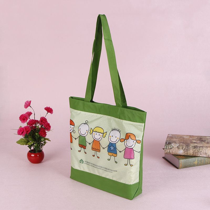 Custom Fashion Polyester Shopping Bag