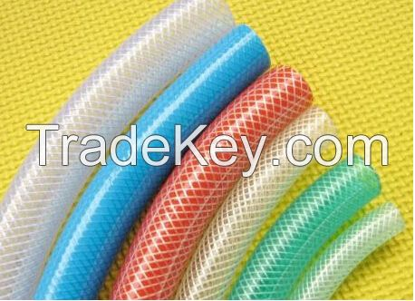 Reinforced pvc hose, pvc braided hose from weifang sungford ltd China
