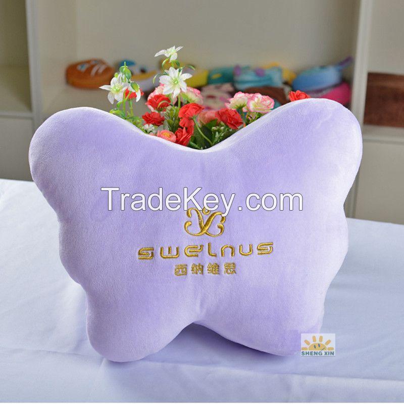 butterfly shape car set cushion pillows
