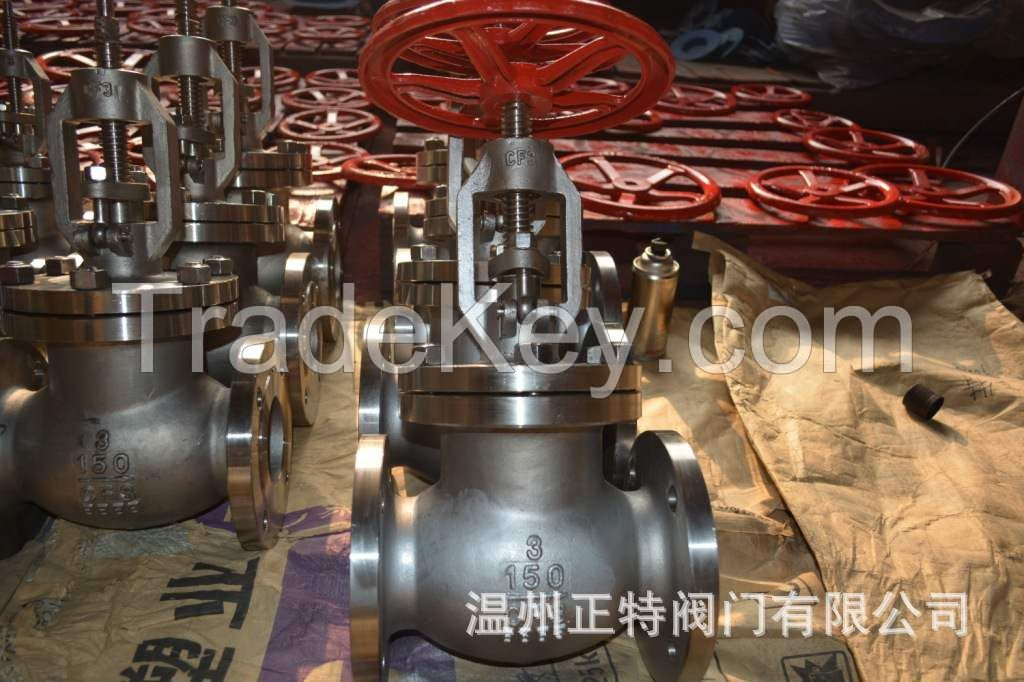 ANSI 150LB Flanged globe valve