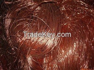Copper Scrap, Copper Wire Scrap, Millberry Copper 99%
