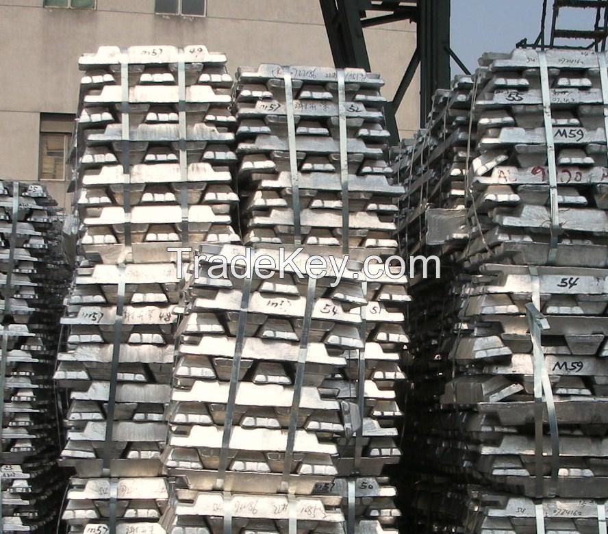 Prime Quality 99.7% Aluminum Ingot Manufacturer,Non Secondary Aluminum Ingot