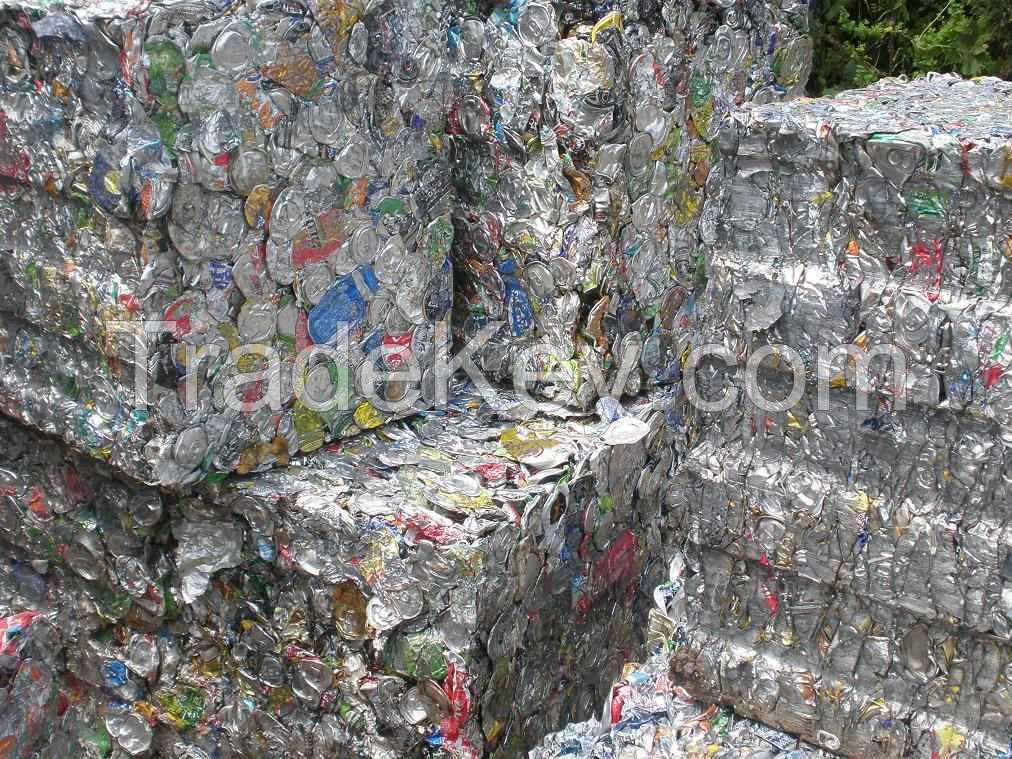 High purity Aluminum UBC Can Scrap (UBC Scrap) in Grade A Bales Aluminum UBC price