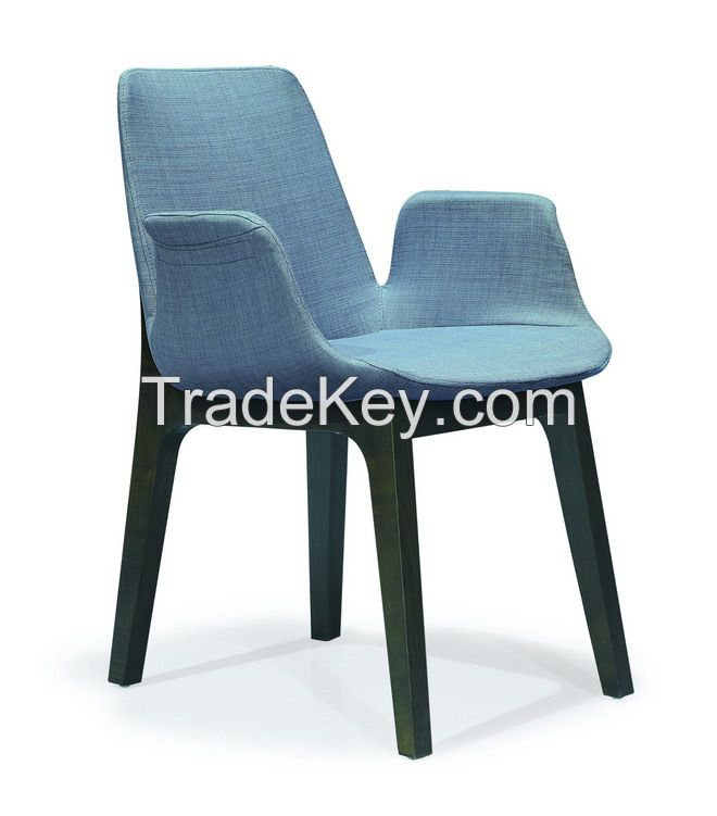 Modern dining room dining wood chair