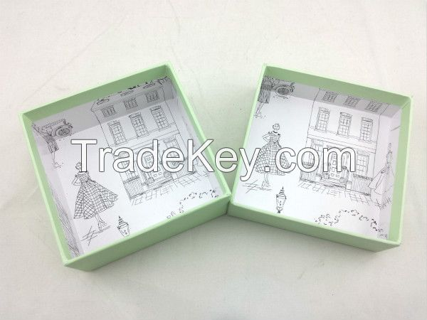packaging paper box with printing