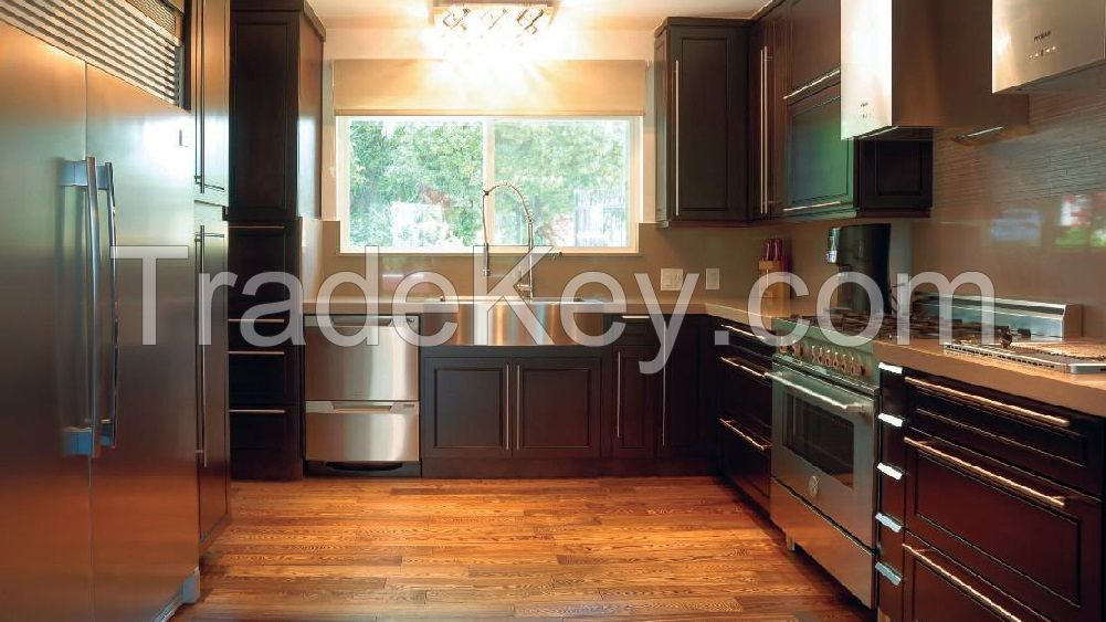 All Solid Wood Kitchen Cabinets