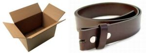 48/4DZ MENS/WOMENS BROWN LEATHER BELTS FOR BUCKLES